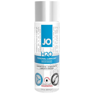 H2O Warming Personal Lube in 2oz/60ml