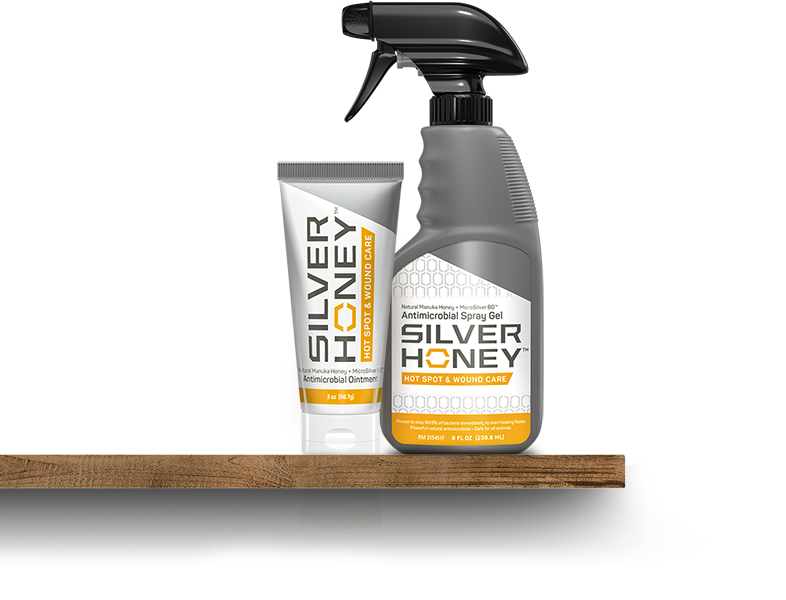 Silver Honey Ointment and Spray Gell