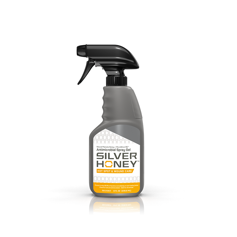 Silver Honey™ Hot Spot & Wound Care Spray Gel 8 oz.
