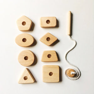 Geometry Lacing Toy