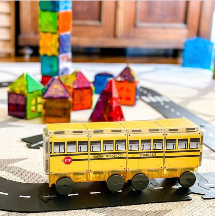 Magna-Tiles®- 123 School Bus
