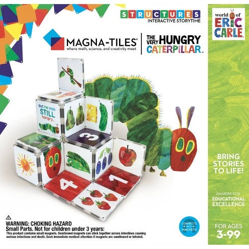 Magna-Tile® By Eric Carle | The Very Hungry Caterpillar