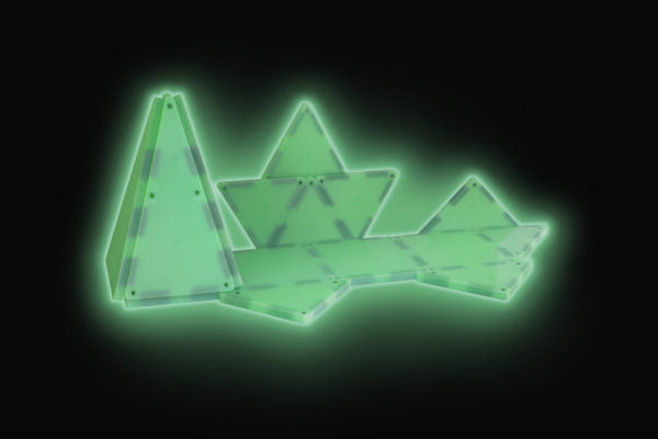 Magna-Tiles® Glow in the Dark 24-Piece Set