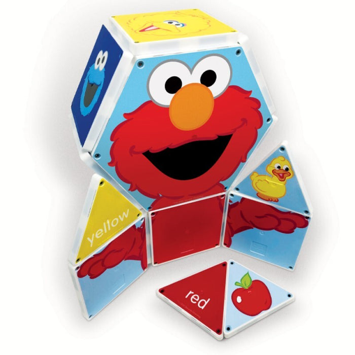 Magna-Tiles® Sesame Street | Colors with Elmo