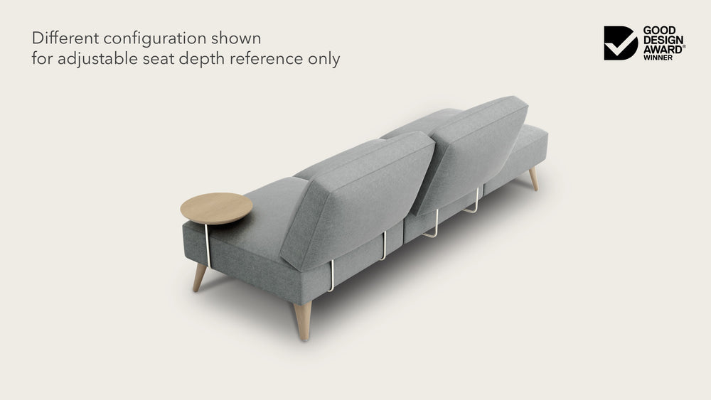 Load image into Gallery viewer, 3 seat modular sofa