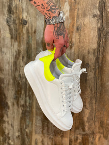 Sneakers Gialle Fluo Made in Italy