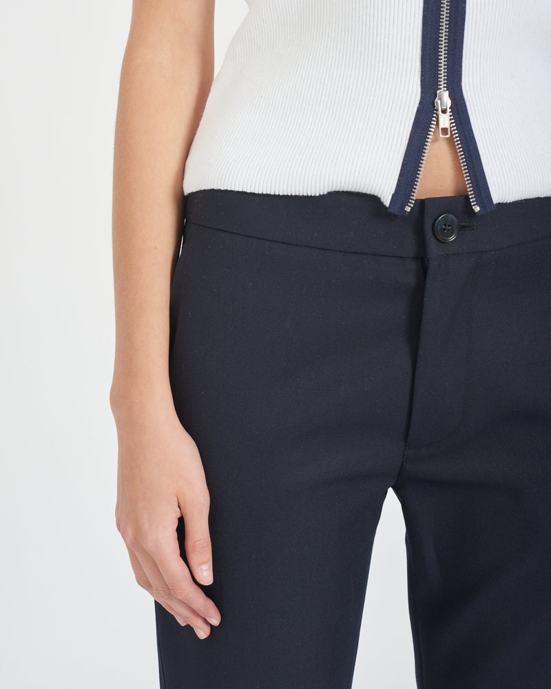 Split Hem Tailored Trousers