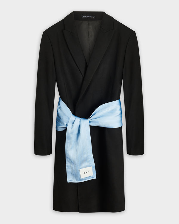 Belted Evening Coat