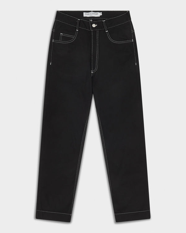 Contrast Stitch Jeans