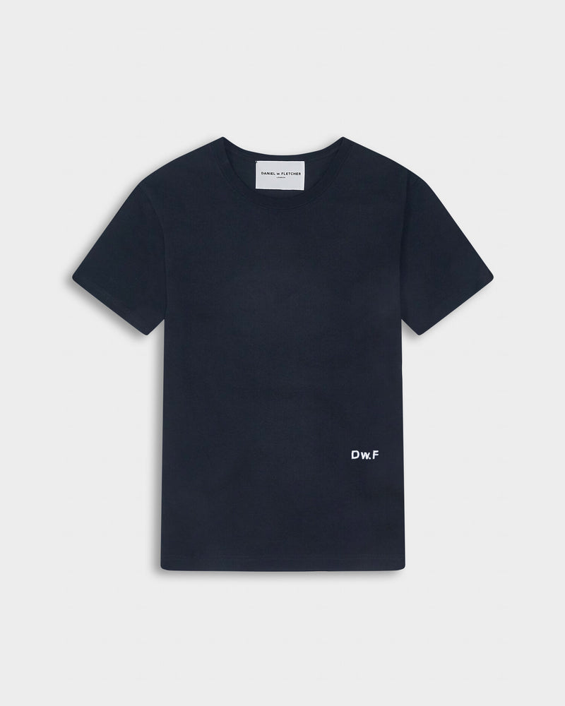 Embroidered D w. F Tee