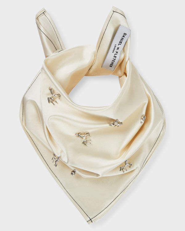 Satin Charms Bandana