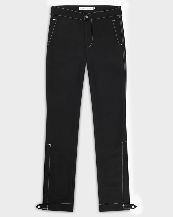 Split Hem Trousers