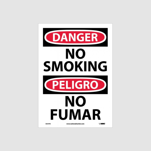 Bilingual No Smoking Signs | www.signslabelsandtags.com