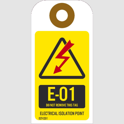 Energy Isolation Tags