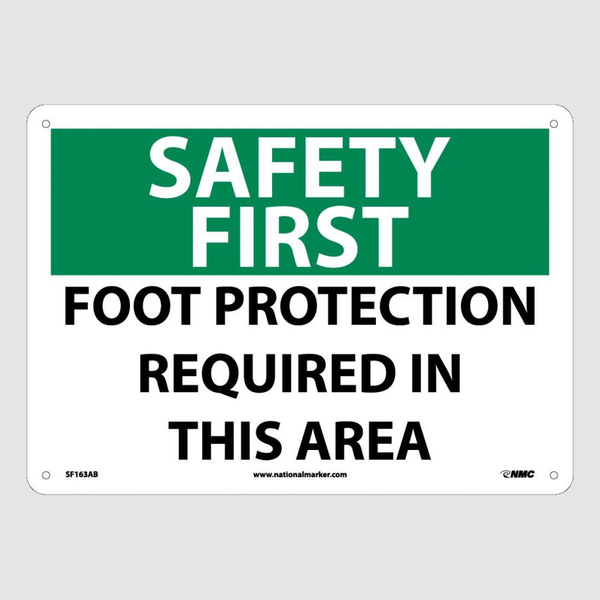 Foot Protection Signs | www.signslabelsandtags.com