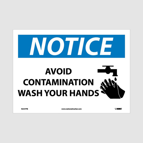 Wash Hands Signs | www.signslabelsandtags.com