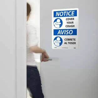 Illness Prevention Safety Signs | www.signslabelsandtags.com