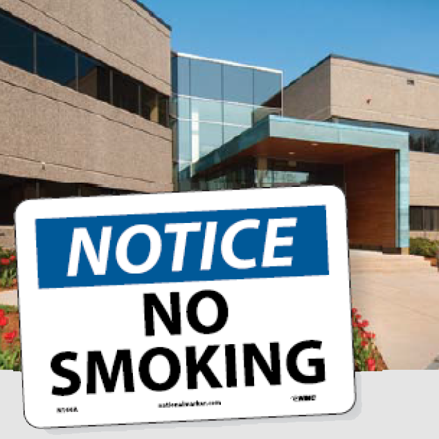 Smoking and Vaping Control Signs