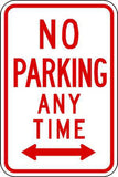 Zing Go Green Parking Signs