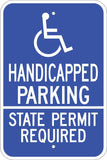 Zing Go Green Handicap Parking State Specific
