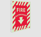 2 View Wall Projection Fire Signs | www.signslabelsandtags.com