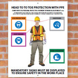 5S Personal Protection Equipment Signs | www,signslabelsandtags.com