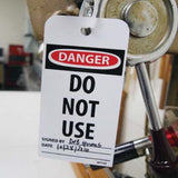 Accident Prevention Tags | www.signslabelsandtags.com