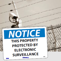 Admittance and Security Signs | www.signslabelsandtags.com