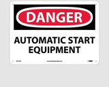 Automatic Equipment Signs | www.signslabelsandtags.com