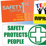 Banners (Safety and Motivational) | www.signslabelsandtags.com