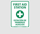 Bilingual First Aid Signs | www.signslabelsandtags.com