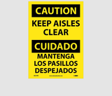 Bilingual Housekeeping Signs | www.signslabelsandtags.com