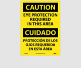 Bilingual Personal Protection Signs | www.signslabelsandtags.com