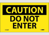 Do Not Enter Safety Labels | www.signslabelsandtags.com