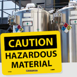 Chemical and Hazardous Material Signs | www.signslabelsandtags.com