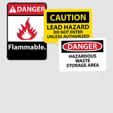 Chemical and Hazardous Material Safety Signs   www.signslabelsandtags.com