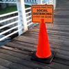 Cones and Cone Top Signs | www.signslabelsandtags.com