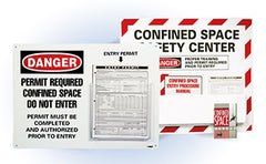 Confined Space Centers | www.signslabelsandtags.com