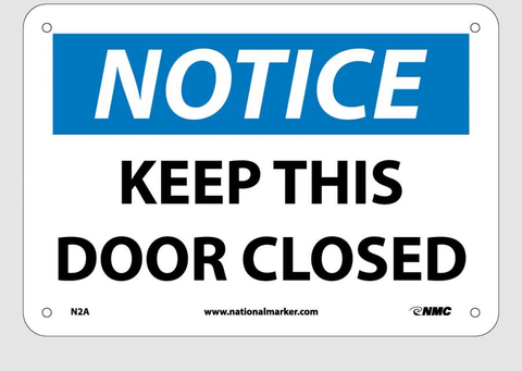 Door and Gate Signs | www.signslabelsandtags.com
