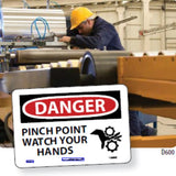 Equipment Hazard Safety Signs