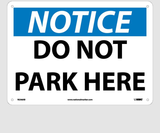 Facility Traffic Parking Signs   www.signslabelsandtags.com