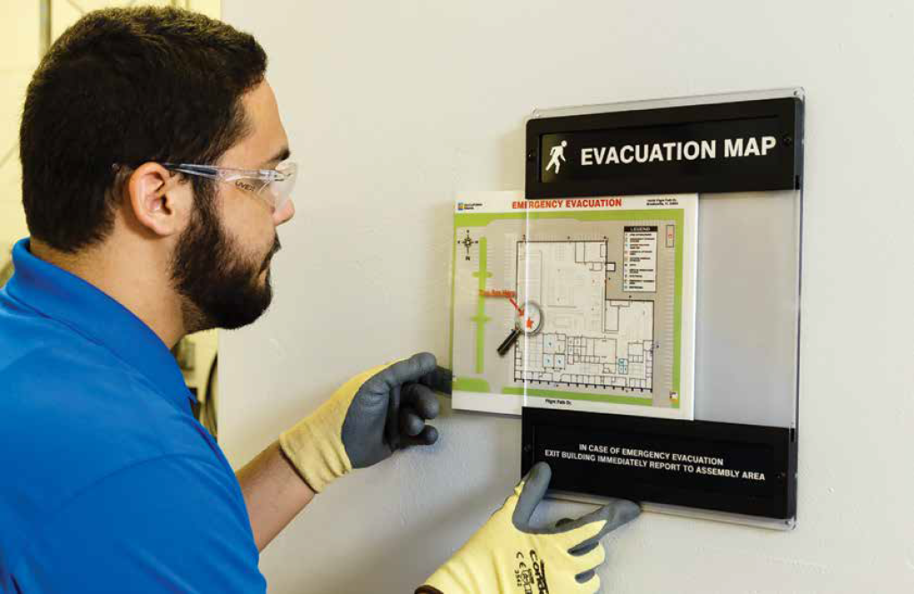 Fire Exit and Emergency Safety Signs | www.signslabelsandtags.com