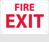 Fire and Exit Signs | www.signslabelsandtags.com