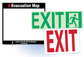 National Marker Fire and Exit Signs