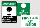 First Aid Signs | www.signslabelsandtags.com