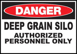 Zing Go Green Agricultural Safety Signs