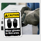 Hand Protection Signs | www.signslabelsandtags.com