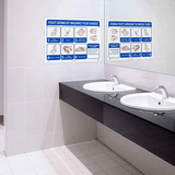 Hand Washing Posters | www.signslabelsandtags.com