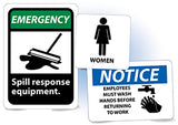 Housekeeping Safety Signs