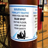 Large Wall and Floor Signs | www.signslabelsandtags.com